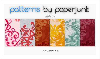 12种古典艺术花纹背景PS填充素材下载