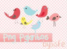 可爱卡通小鸟美图秀秀装饰素材下载