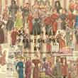 33种复古元素欧美都市女郎素材包美图秀秀下载