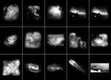 真实太空星云图PS笔刷素材下载