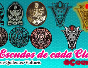 9个欧式徽章、标志图案素材【美图秀秀素材包】