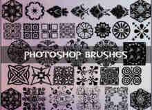 Photoshop古典艺术花纹素材笔刷
