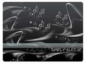 可爱音乐符号元素背景装饰PS美图笔刷