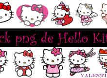 女生专用Hello Kitty照片美图饰品素材下载