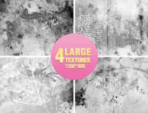 4张斑驳的墙面背景图片素材
