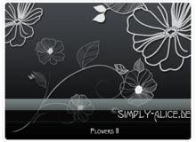高品质手绘植物花朵PS美图笔刷素材