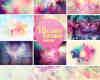 10张梦幻时尚背景照片处理图片素材