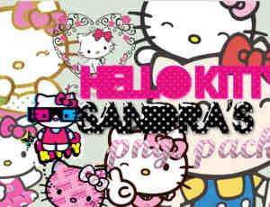 呆萌!Hello Kitty美图饰品素材包