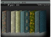 古典墙壁、地毯印花图案民族花纹Photoshop填充图案底纹素材.pat #.5