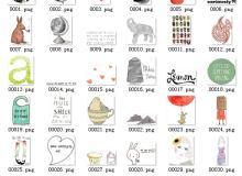 40个小清新卡通美图素材打包下载