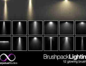 专用灯光、照明Photoshop笔刷素材