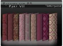 古典墙壁、地毯印花图案民族花纹Photoshop填充图案底纹素材.pat #.1
