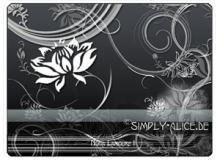 漂亮的植物花纹照片美图背景边框饰品PS笔刷 #.13