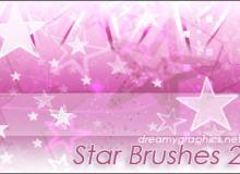 可爱星星符号Photoshop美图笔刷