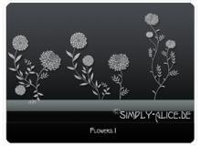 漂亮的植物花纹照片美图背景边框饰品PS笔刷 #.21