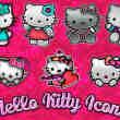已扣图!呆萌Hello Kitty美图素材打包下载