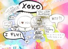 气泡标语对话框可爱照片装饰素材 #.2