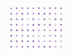 一套供Web页面、手机APP使用的Icon图标素材 #.2