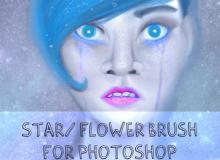 小花装饰品Photoshop美图笔刷
