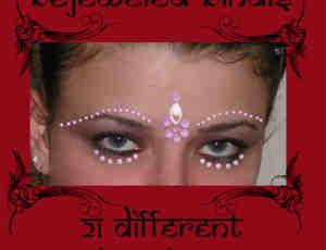 """印度的""""吉祥痣""""额头装饰Photoshop美图笔刷 #.1"""