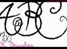 漂亮的植物花纹照片美图背景边框饰品PS笔刷 #.59