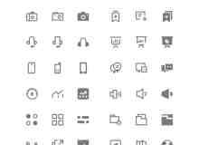 免费Icons图标素材下载