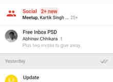 谷歌手机Inbox PSD + Invites素材下载