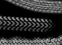 雪地轮胎痕迹PS笔刷素材