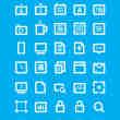 35个免费时髦的UI图标素材