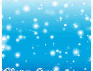 圣诞节下雪背景Photoshop雪景笔刷