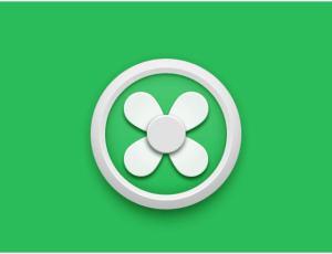 清新风扇icon图标5分钟打造完成:设计小鲜肉教程
