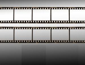 老式电影胶卷、相机胶片Photoshop笔刷素材