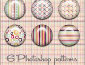 小清新复古式Photoshop填充图案底纹素材.pat下载