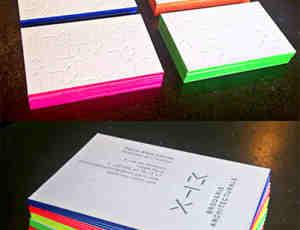 30个夺人眼球的亮色名片设计方案