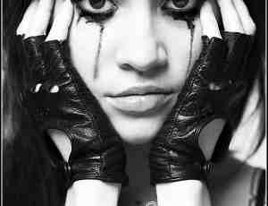 出血的眼睛效果Photoshop非主流血泪笔刷