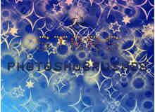 星星图案Photoshop照片美化装饰笔刷