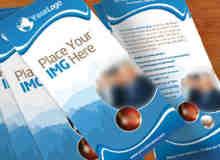 宣传手册PSD模版素材下载