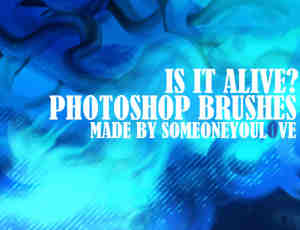 抽象背景装饰素材Photoshop笔刷