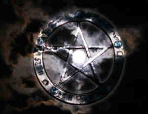 古朴样式五角星魔法徽章饰品Photoshop笔刷素材