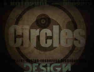 20种圆圈样式、同心圆PS笔刷素材