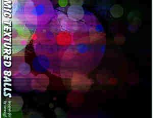 动态纹理圆球背景装饰Photoshop笔刷素材