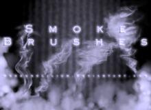 真实烟雾、雾状、水汽Photoshop笔刷素材