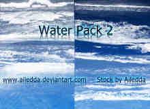 大海、潮水、潮汐Photoshop水效果笔刷下载
