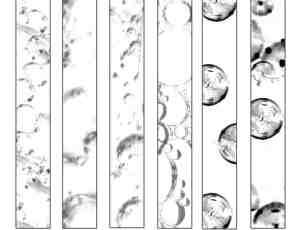 透明泡沫、气泡、水泡Photoshop泡泡笔刷下载
