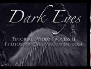 非主流恐怖的眼睛Photoshop笔刷素材