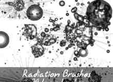 辐射球效果Photoshop笔刷素材