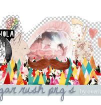 可爱女孩照片装饰PNG透明图片素材下载