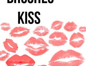 亲吻Kiss、唇印、吻痕、口红印PS笔刷下载