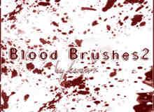 血迹斑斑效果PS笔刷免费下载