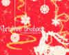 圣诞节驯鹿、雪花、星星Photoshop装饰笔刷